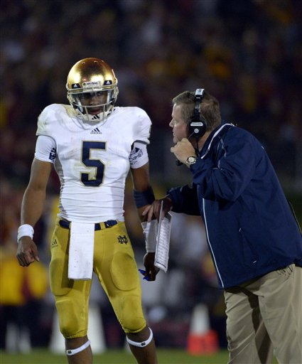 Everett Golson, Brian Kelly