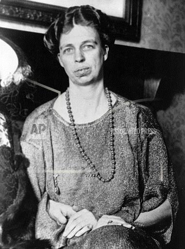 Associated Press Domestic News New York United States ELEANOR ROOSEVELT