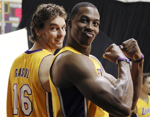 Pau Gasol, Dwight Howard