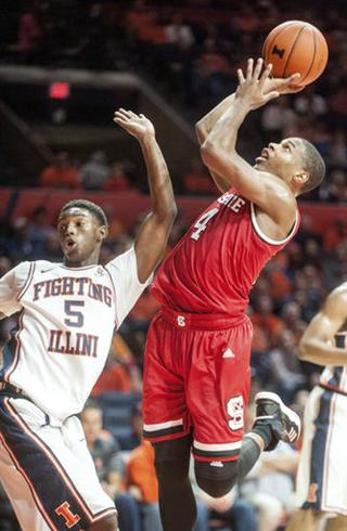 NC State Illinois Basketball