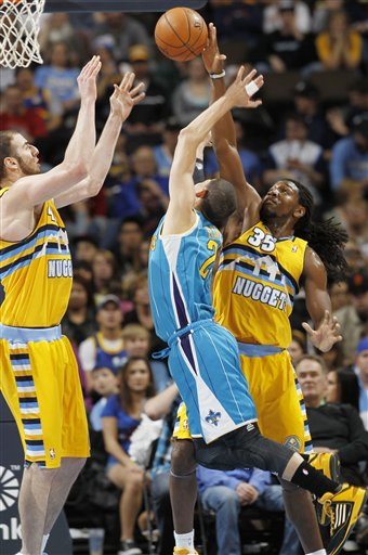 Kenneth Faried, Austin Rivers, Kosta Koufos