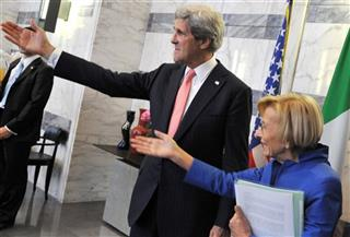 Emma Bonino, John Kerry