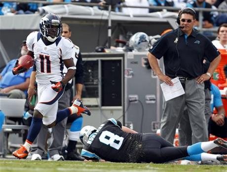 Trindon Holliday, Brad Nortman, Ron Rivera