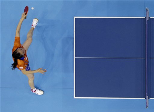 APTOPIX London Olympics Table Tennis Women