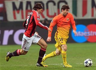 Lionel Messi, Riccardo Montolivo