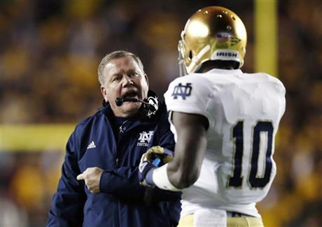 Brian Kelly, DaVaris Daniels