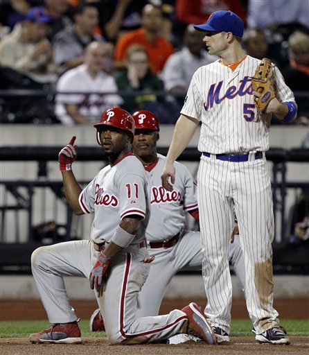 Jimmy Rollins, David Wright, Juan Samuel