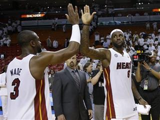 LeBron James, Dwyane Wade