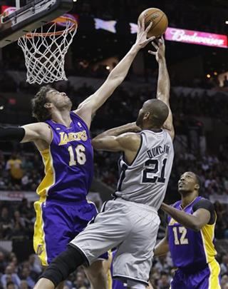 Pau Gasol , Tim Duncan