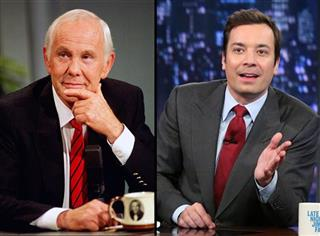 Johnny Carson Jimmy Fallon