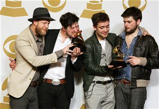 Ted Dwane, Marcus Mumford, Ben Lovett, Winston Marshall