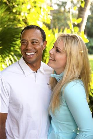 Skiing, Golf, Tiger Woods, Lindsey Vonn