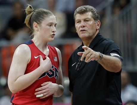 Geno Auriemma, Lindsay Whalen