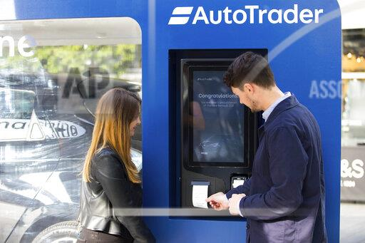 Autotrader vending machine