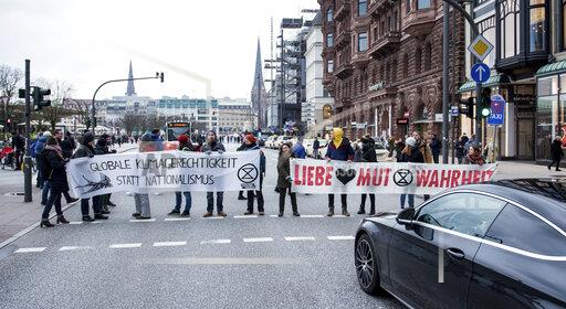 Climate protest by Extinction Rebellion