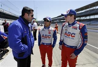 Conor Daly, Takuma Sato, Larry Fory