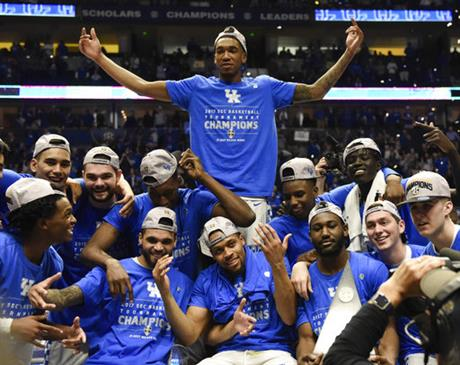 SEC Arkansas Kentucky Basketball