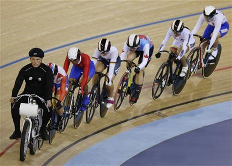London Olympics Cycling