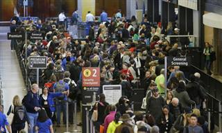 Airline Bag Fees-Long Lines