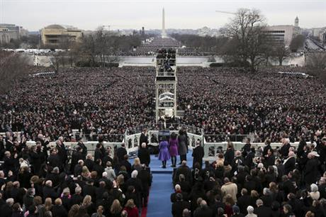 Inaugural crowds sure to be huge _ but how huge?