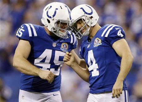 Matt Overton, Adam Vinatieri