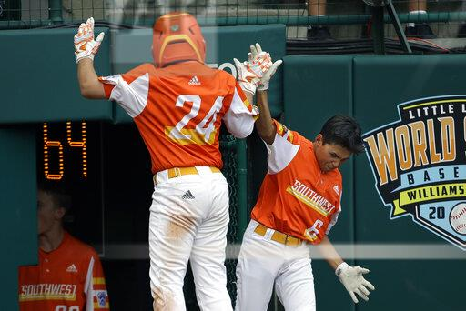 LLWS Louisiana Hawaii Baseball