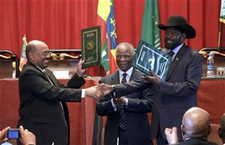 Omar al-Bashir, Salva Kiir