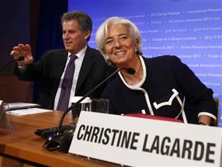 Christine Lagarde, David Lipton