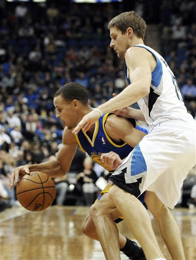 Luke Ridnour, Stephen Curry