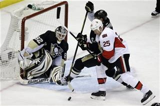 Tomas Vokoun, Brooks Orpik, Chris Neil