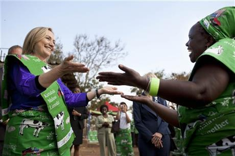 Hillary Rodham Clinton, Emille Phiri