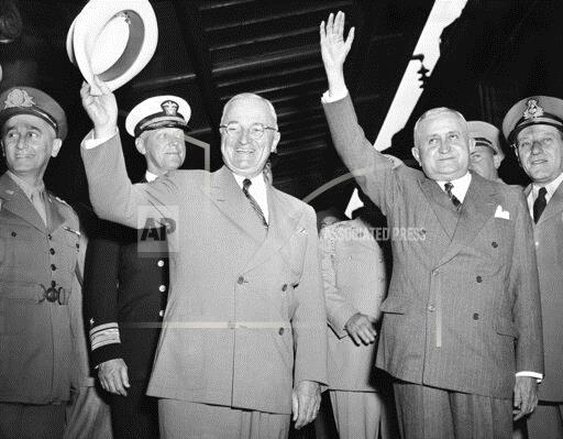 Watchf Associated Press Domestic News  Dist. of Col United States APHS202198 Truman Dutra 1949