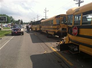 Indiana-Bus Crash