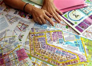 Thailand Travel Bangkok Mapmaker