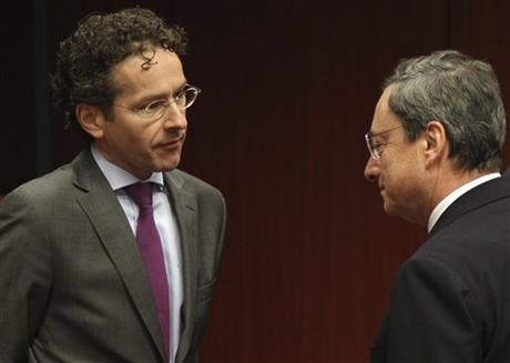 Mario Draghi, Jeroen Dijsselbloem