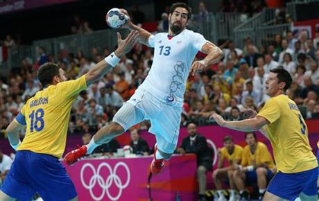 APTOPIX London Olympics Handball Men