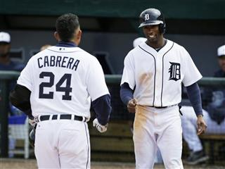 Austin Jackson, Miguel Cabrera