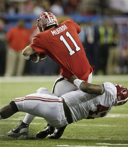  Aaron Murray (11) , Xzavier Dickson