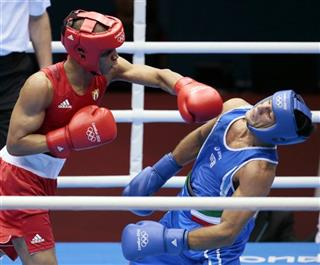 London Olympics Boxing Men