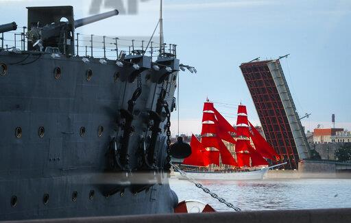 Russia Scarlet Sails