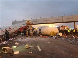 APTOPIX Russia Plane Crash