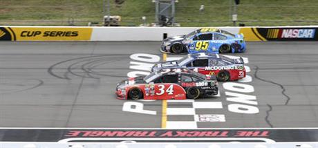 Chris Buescher, Michael McDowell, Jamie McMurray