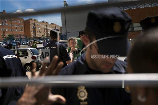 Spain Financial Crisis Evictions