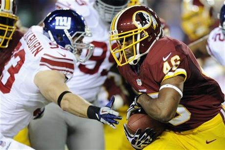 Chase Blackburn, Alfred Morris