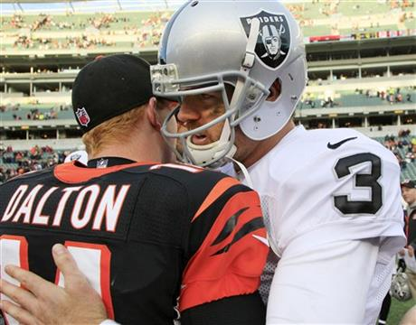 Andy Dalton, Carson Palmer