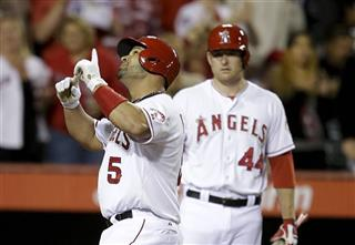 Albert Pujols, Mark Trumbo