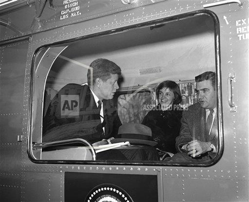 Watchf AP A  DC USA APHS257031 President Kennedy and Pierre Salinger