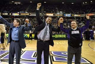 Joe Maloof, Kevin Johnson, Gavin Maloof