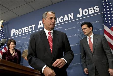 John Boehner, Eric Cantor, Cathy McMorris Rodgers