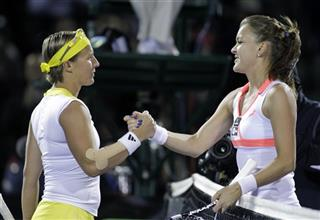 Kirsten Flipkens, Agnieszka Radwanska